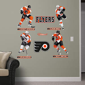 Philadelphia Flyers Power Pack Fathead Wall Decal
